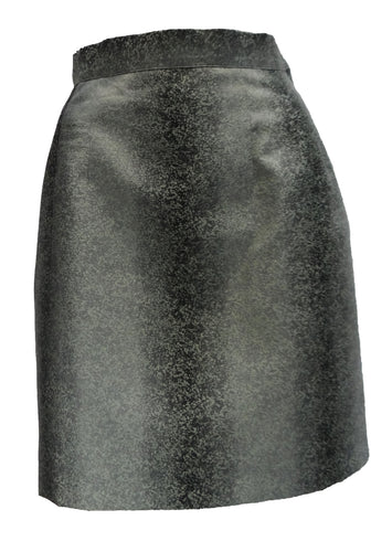 Vintage Ozbek Pencil Skirt in Mottled Brocade, 1990s, UK10-12