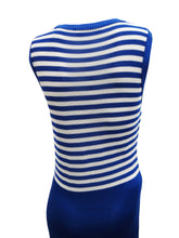 Sonia Rykiel Knitted Dress with Striped Top, UK12