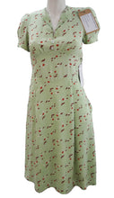 Pale Green Floral Tea Dress, as worn in The Woman in Black, UK10