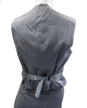 Bespoke 3-Piece Suit in Light Grey Wool, UK10