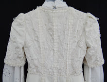 Vintage Bill Gibb Wedding Ensemble, 1973, UK6-8