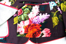 Etro Belted Jacket in Flower Print, UK12
