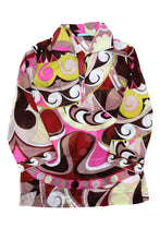 Emilio Pucci Beach Pyjamas in Geometric Signature Print, UK12-14