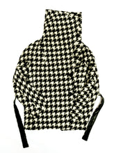 Max Mara Belted Jacket in Oversize Houndstooth Check, UK8-10