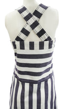 See by Chloe Sun Dress in Striped Cotton Canvas, UK12