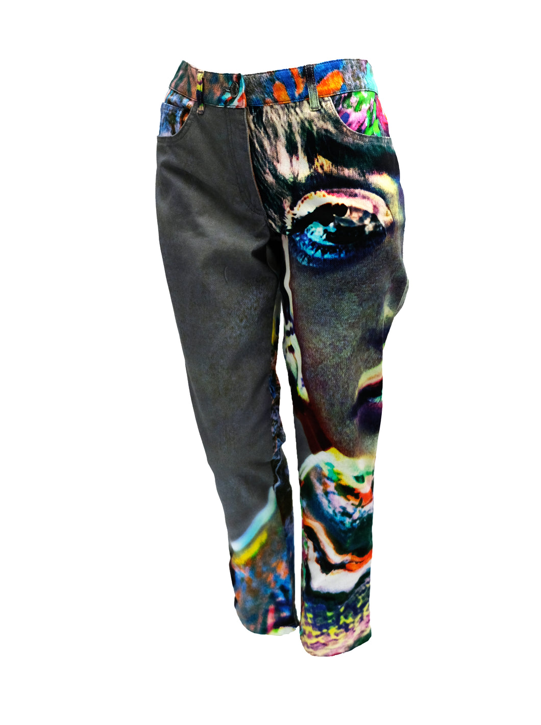 Escada Jeans in Psychedelic Fantasy Print, UK12
