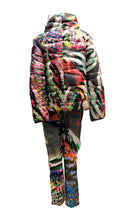 Escada Trouser Suit in Psychedelic Fantasy Print, UK12