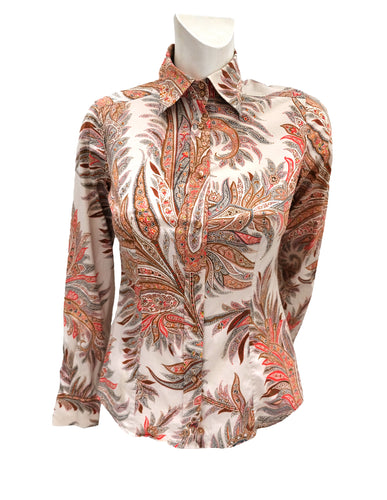 Etro Shirt with Paisley Print, UK8-10Etro Shirt with Paisley Print, UK8-10Etro Shirt with Paisley Print, UK8-10