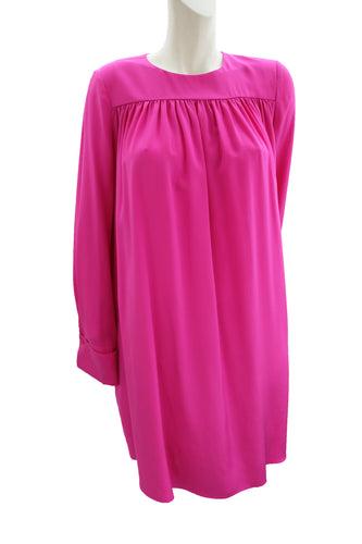 Diane von Furstenberg Pink Silk Tent Dress, UK8-10