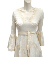 Vintage Mexicana of Sloane Street Cotton and Lace Wedding Dress, UK8-10