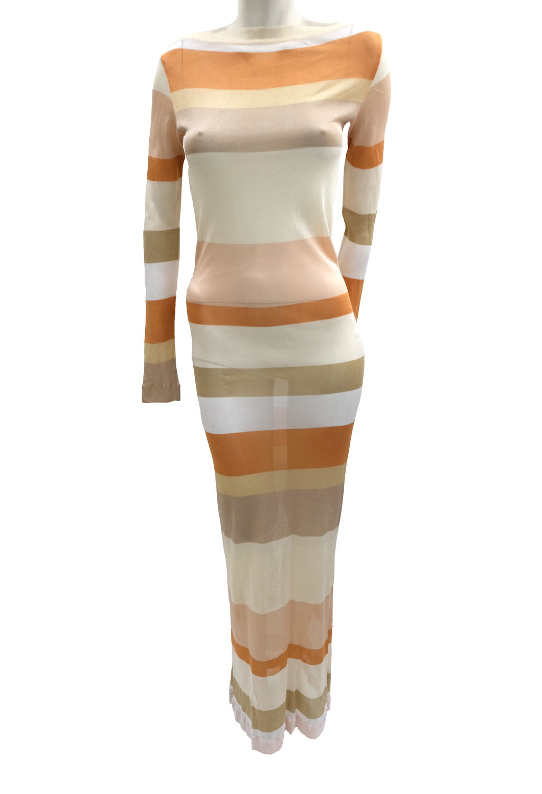 Missoni tricot striped maxi dress, UK10