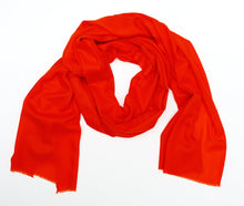 Orange Pashmina Shawl