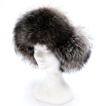 Harrods Trapper Hat in Brown Leather with Fur Lining