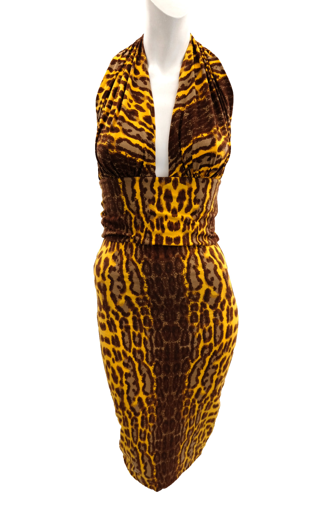 Sonia Fares Paris Vintage Leopard Print Ensemble, UK10