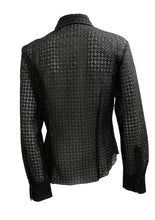 Max Mara Shirt in Black Broderie Anglaise, UK12
