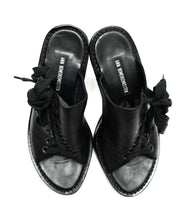 Ann Demeulemeester High Heeled Mules with Lace-up Detail, UK5.5