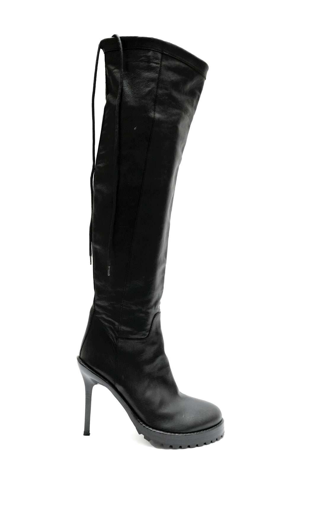 Ann Demeulemeester Knee Boots with Stiletto Heel, UK5.5