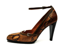 Prada Snakeskin High Heeled Pumps, UK6.5
