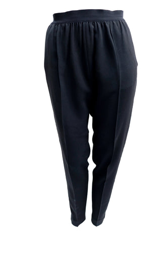 Celine Black Tapered Trousers, UK10