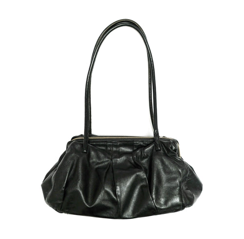 Miu Miu Purse Handbag in Black Leather, Small