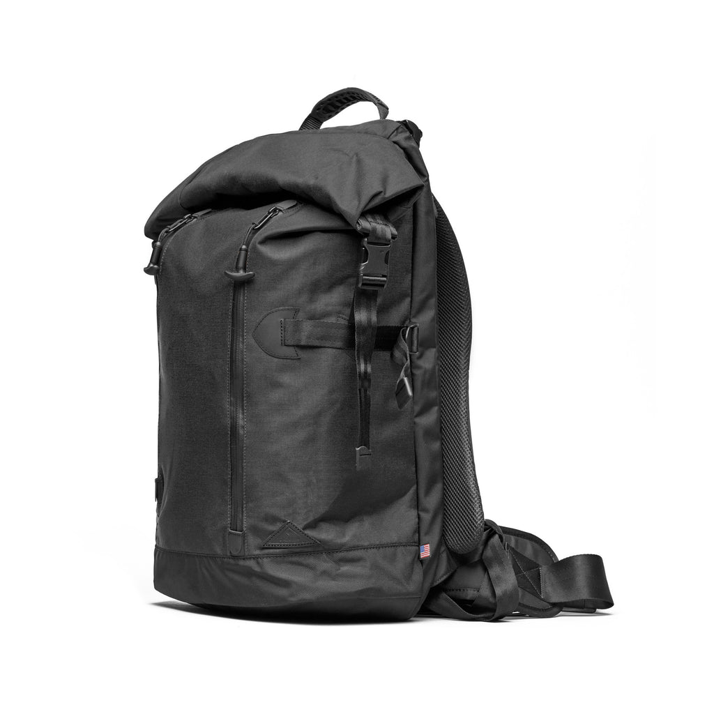 Trecknos Roll Top Pack - Black