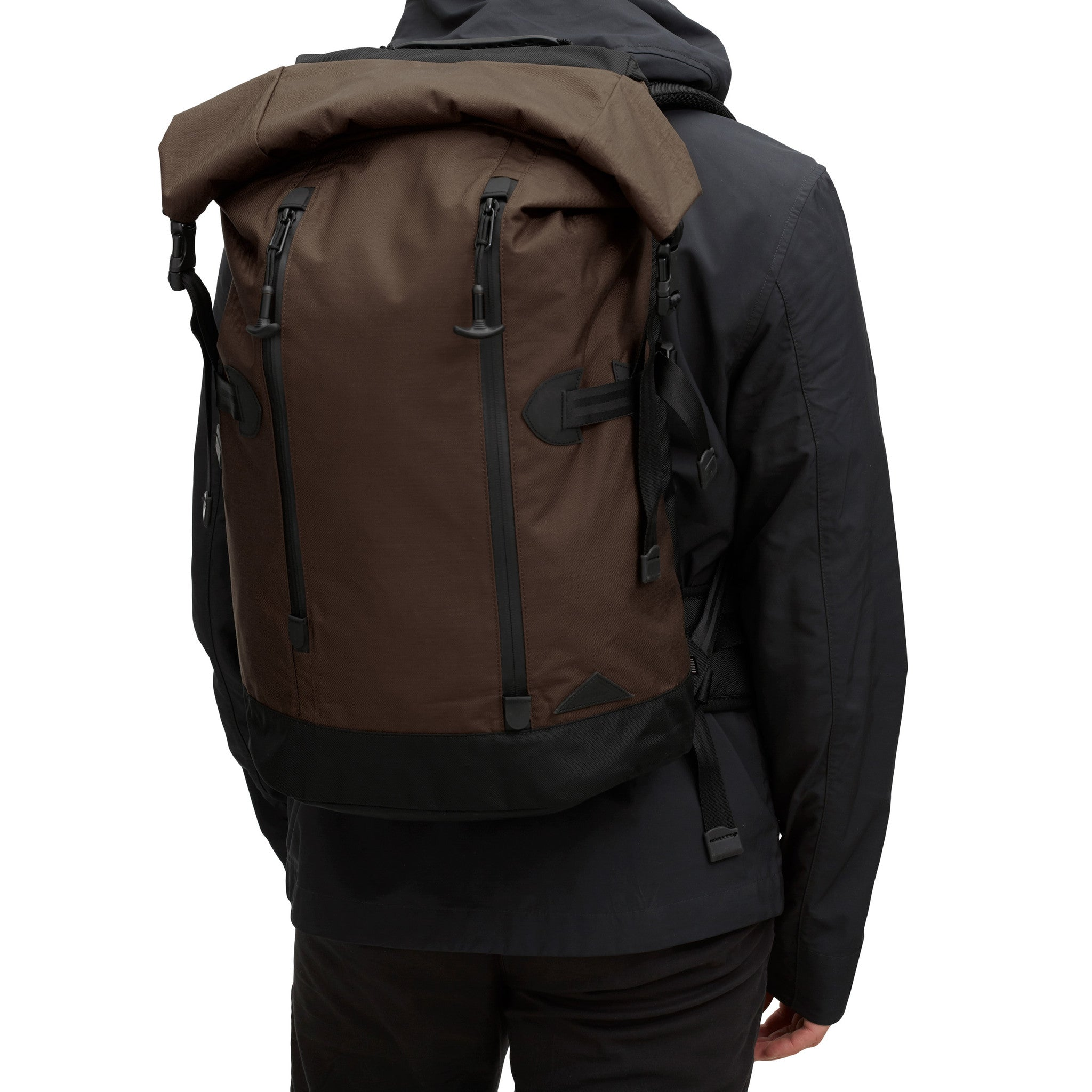 Trecknos Roll Top Pack - Brown