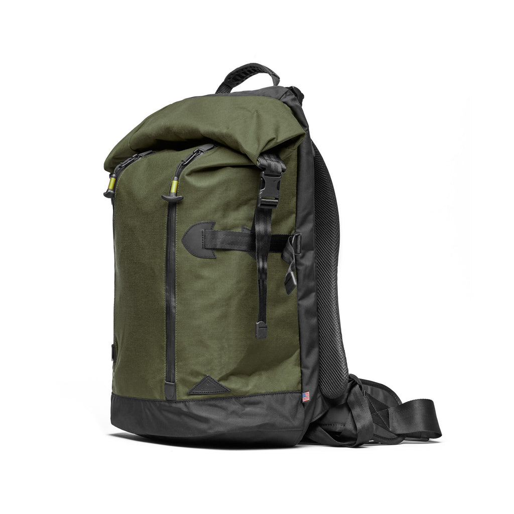 Trecknos Roll Top Pack - Forest Green