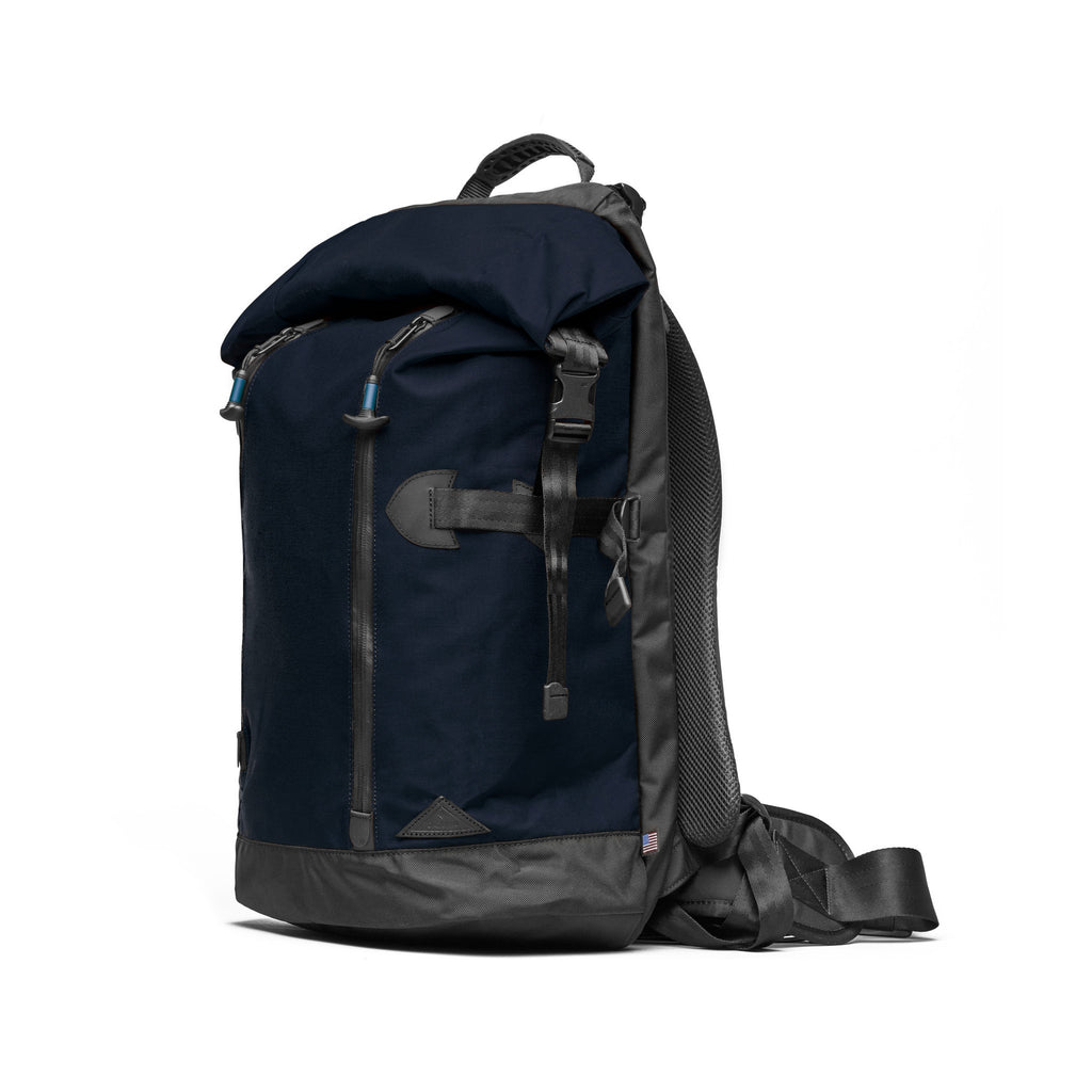 Trecknos Roll Top Pack - Navy