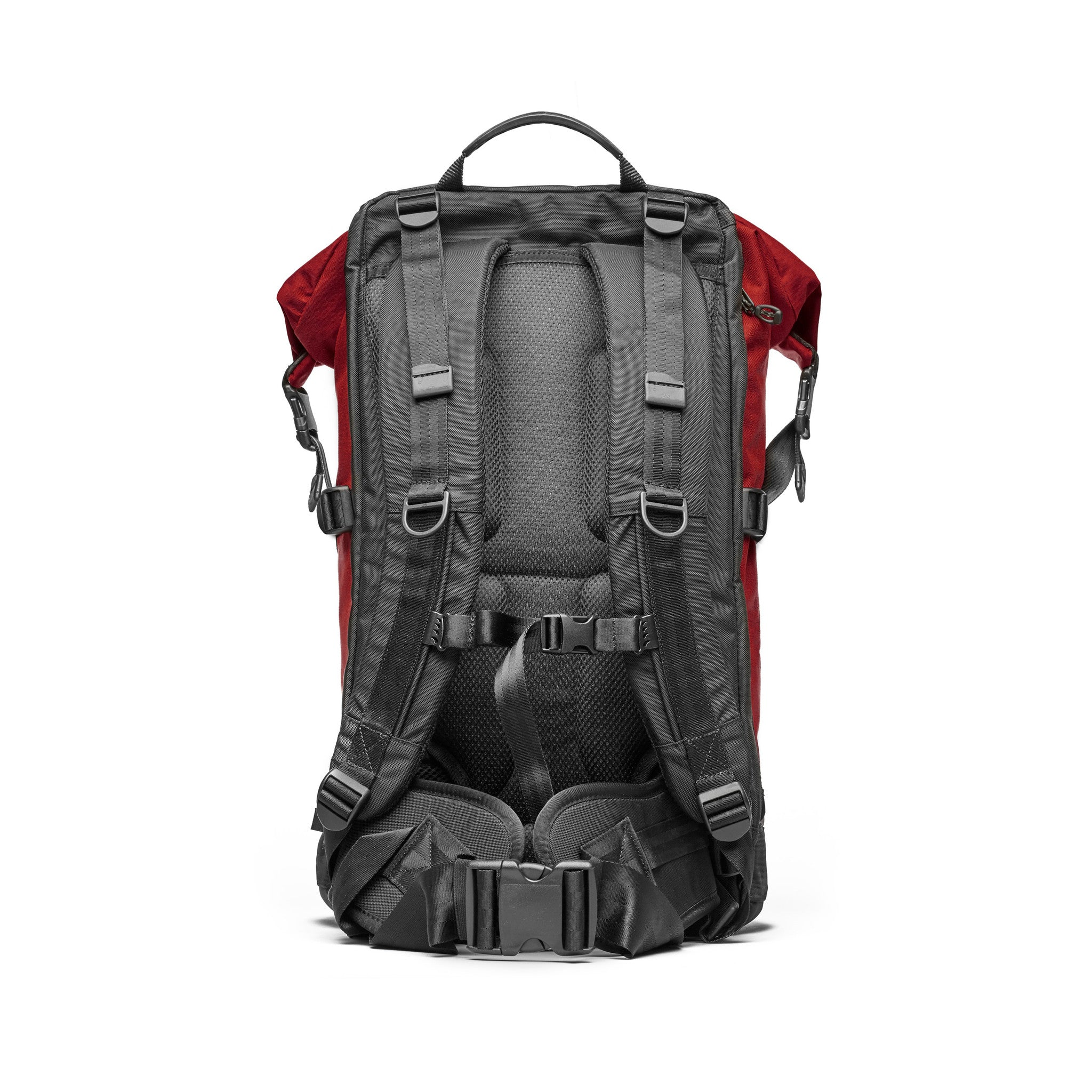 Trecknos Roll Top Pack - Red