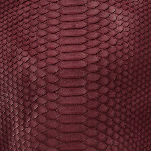 Burgundy Python (not available to order as a swatch)