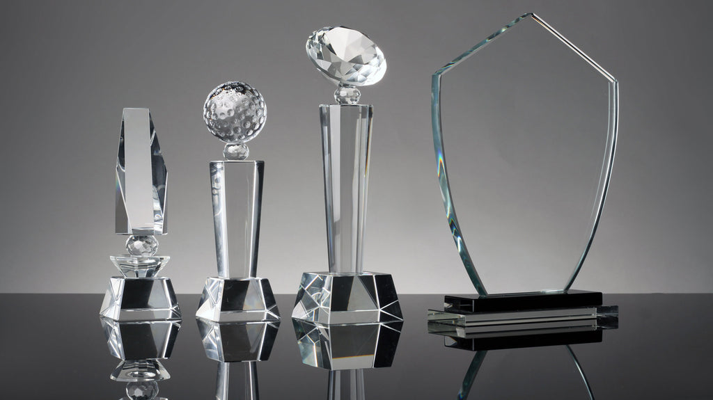 Crystal and Glass Awards: What's the Difference?