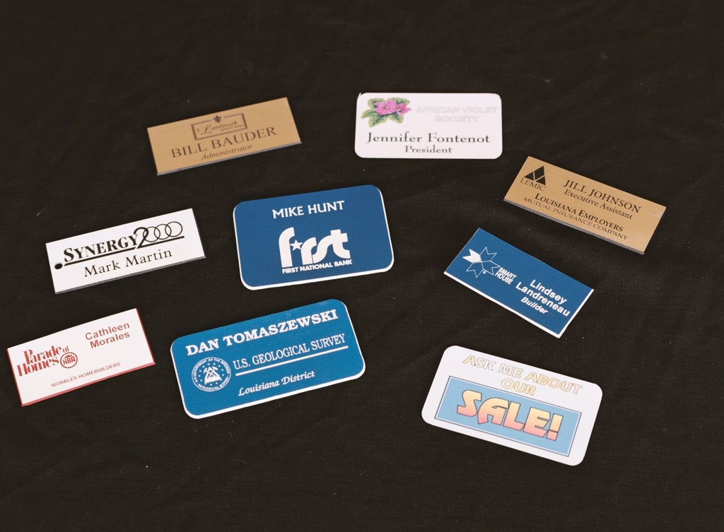 Name Tag Options