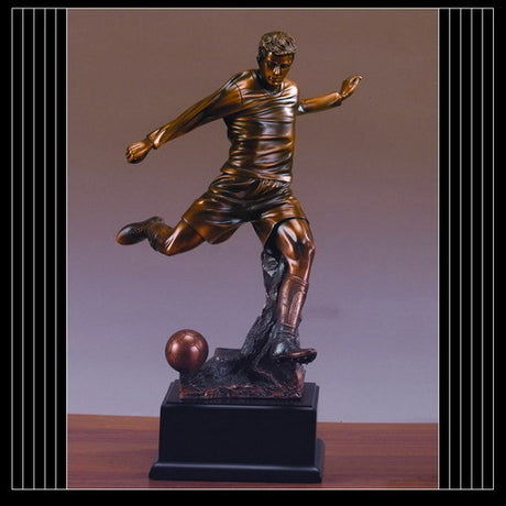 Soccer Player Resin