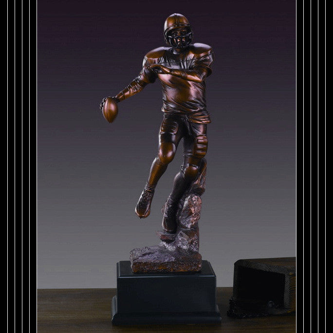 Football Player Resin