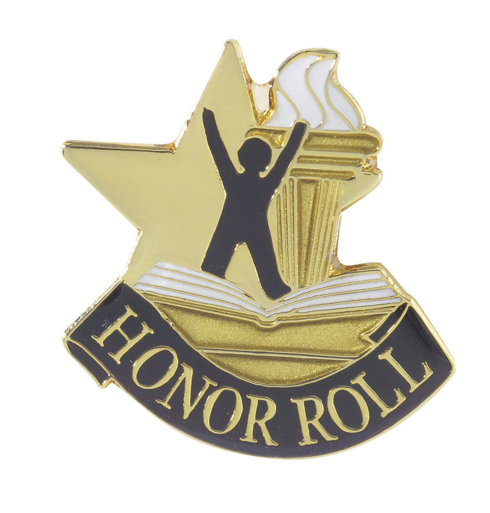 Honor Roll Achievement Lapel Pin