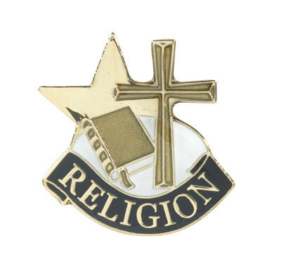 Religious Achievement Lapel Pin