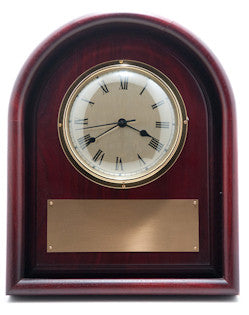 Arched Top Frame Wall Clock