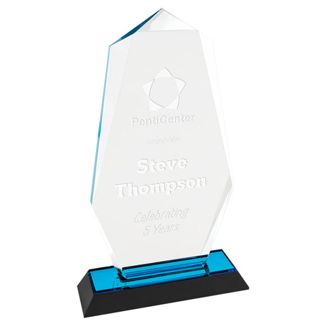 Octagon Point Acrylic Awards