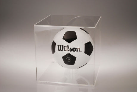 Acrylic Soccer Ball & Basketball Case