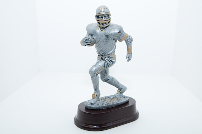 Football Runner Resin
