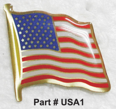 U.S.A. Flag Lapel Pin