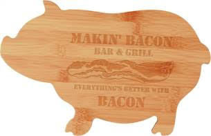Pig Cutting Board