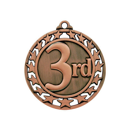 Third Medallion w/ Neck Ribbon
