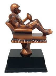 Armchair Quarterback Resin Figure