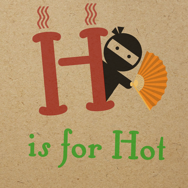 H is for Hot
