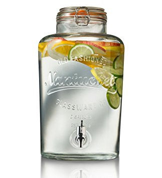 Nantucket Mason Jar Beverage Dispenser - 8 Litre