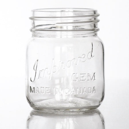 Improved Gem Short 500ml Jars
