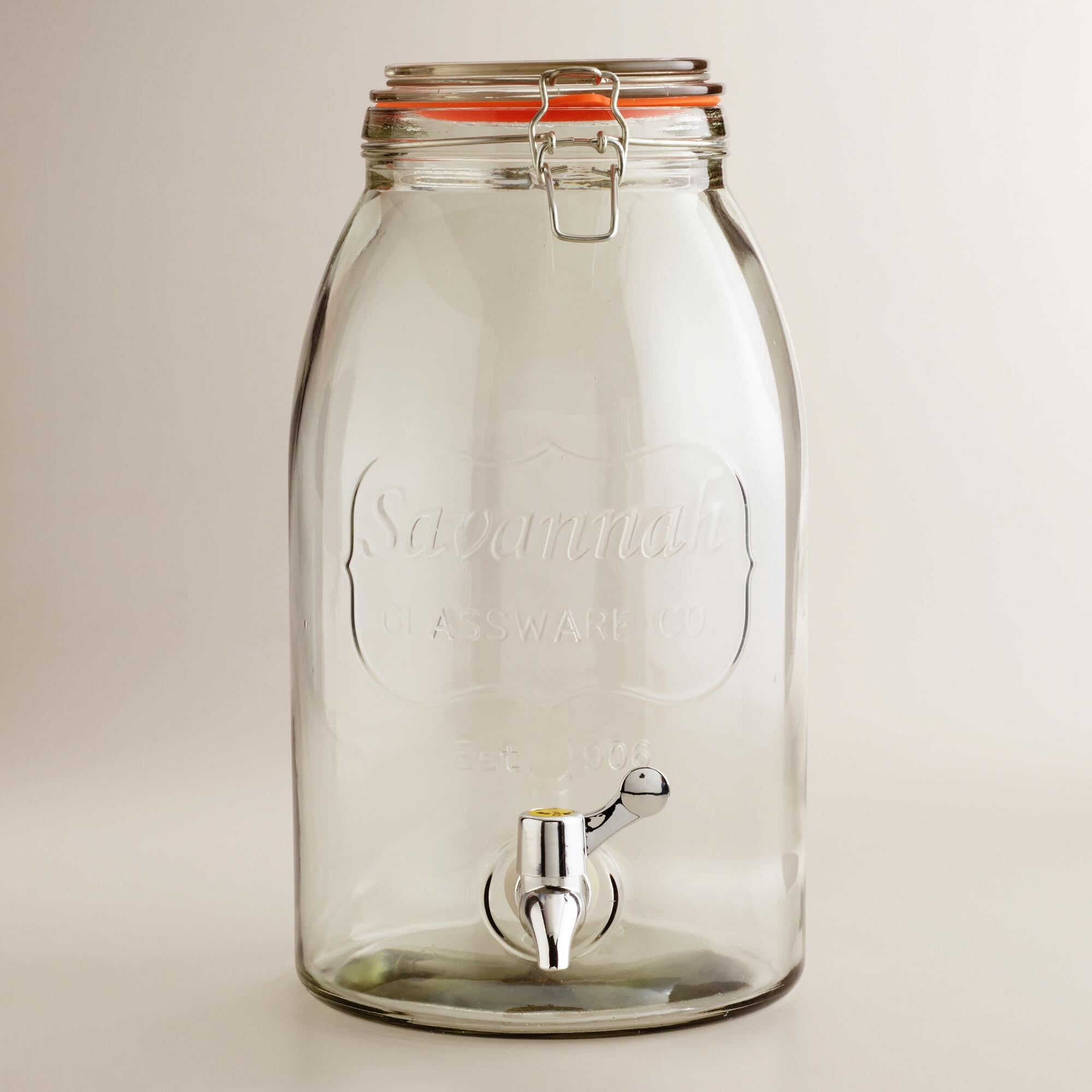 Savannah Mason Jar Beverage Dispenser - 8 Litre