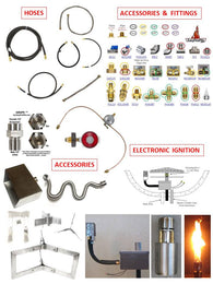 Hoses, Fittings, Accessories & Ignition