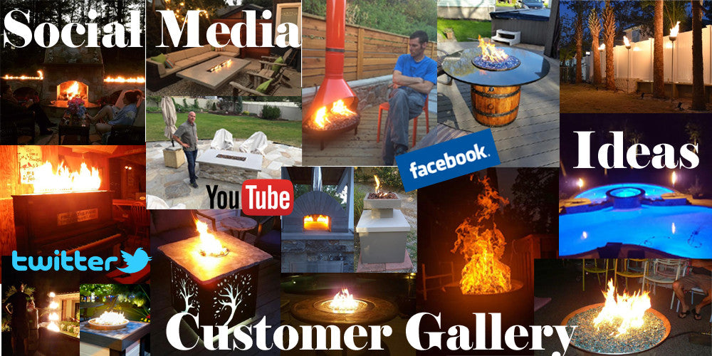 Visit us on Facebook.com/easyfirepits, twitter.com/easyfirepits, instagram.com/easyfirepits, #easyfirepits for tips, tricks and videos as well as our customer gallery of completed projects